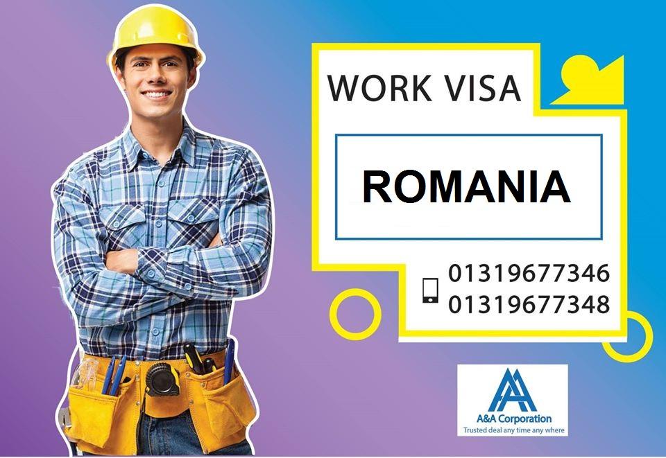 romania work visa photo